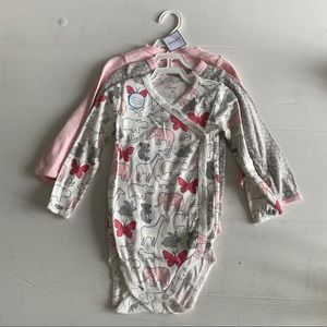 Carter's One Pieces - 🆕 Carter's 24 Months Side Snap 3-Pack Onesies